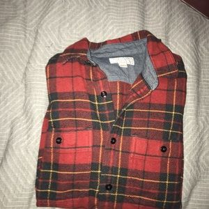 Wallace and Barnes J CREW Men's Flannel-XS
